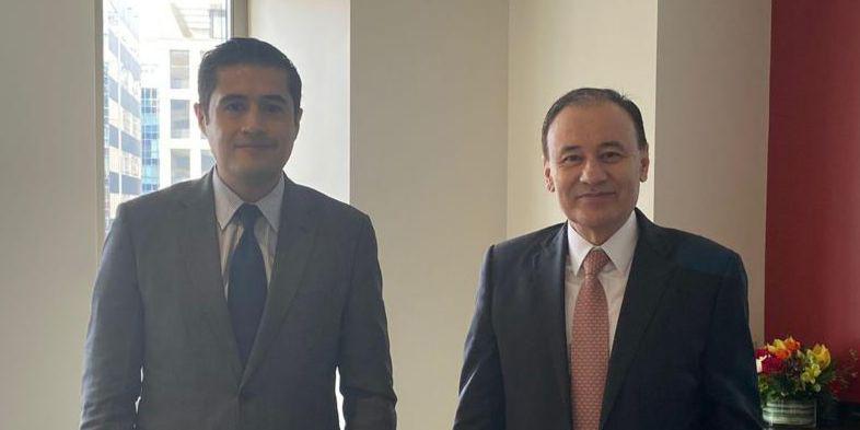 Durazo propone proyectos para Sonora al Banco Interamericano de Desarrollo.