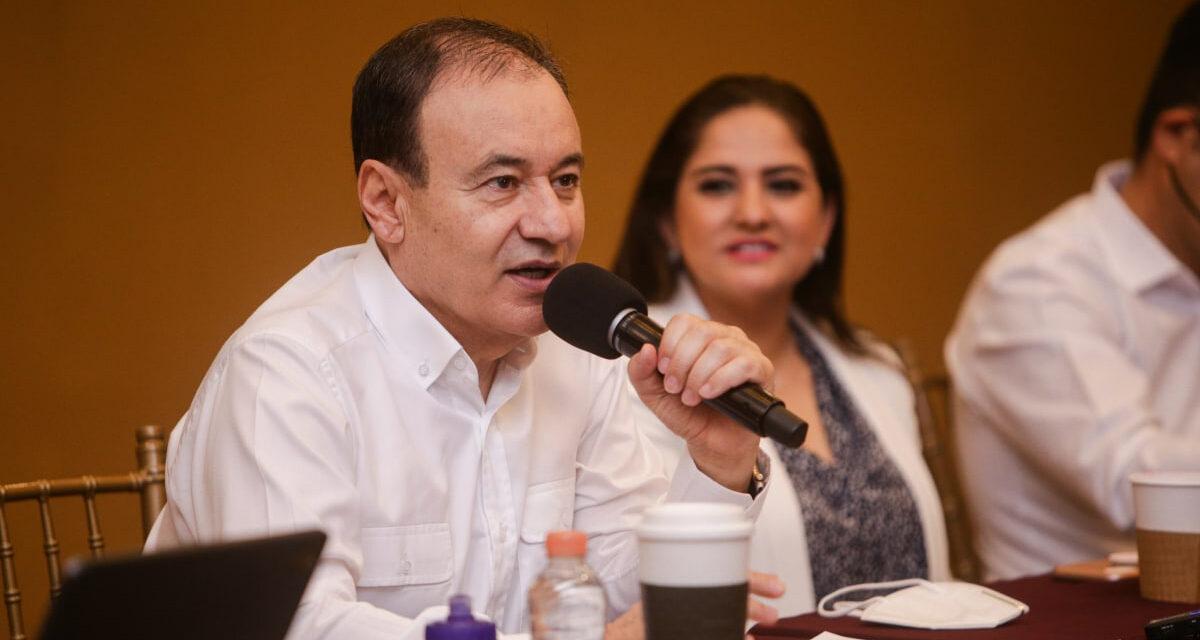 Anuncia Alfonso Durazo proyectos para Agua Prieta y Nogales.
