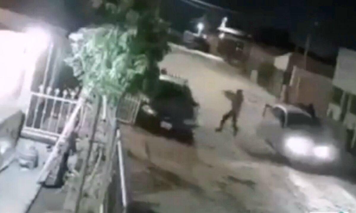 [VIDEO] Graban el momento que asesinan a dos hombres en Algodones BC