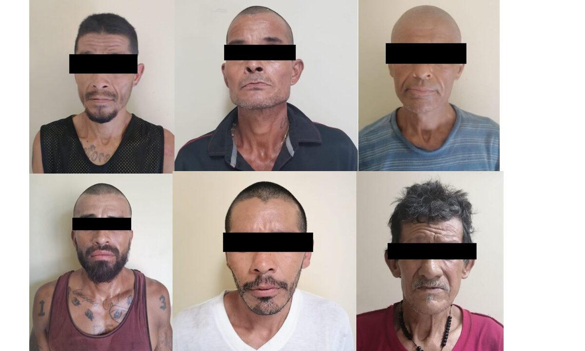 Detienen a 38 presuntos delincuentes en SLRC