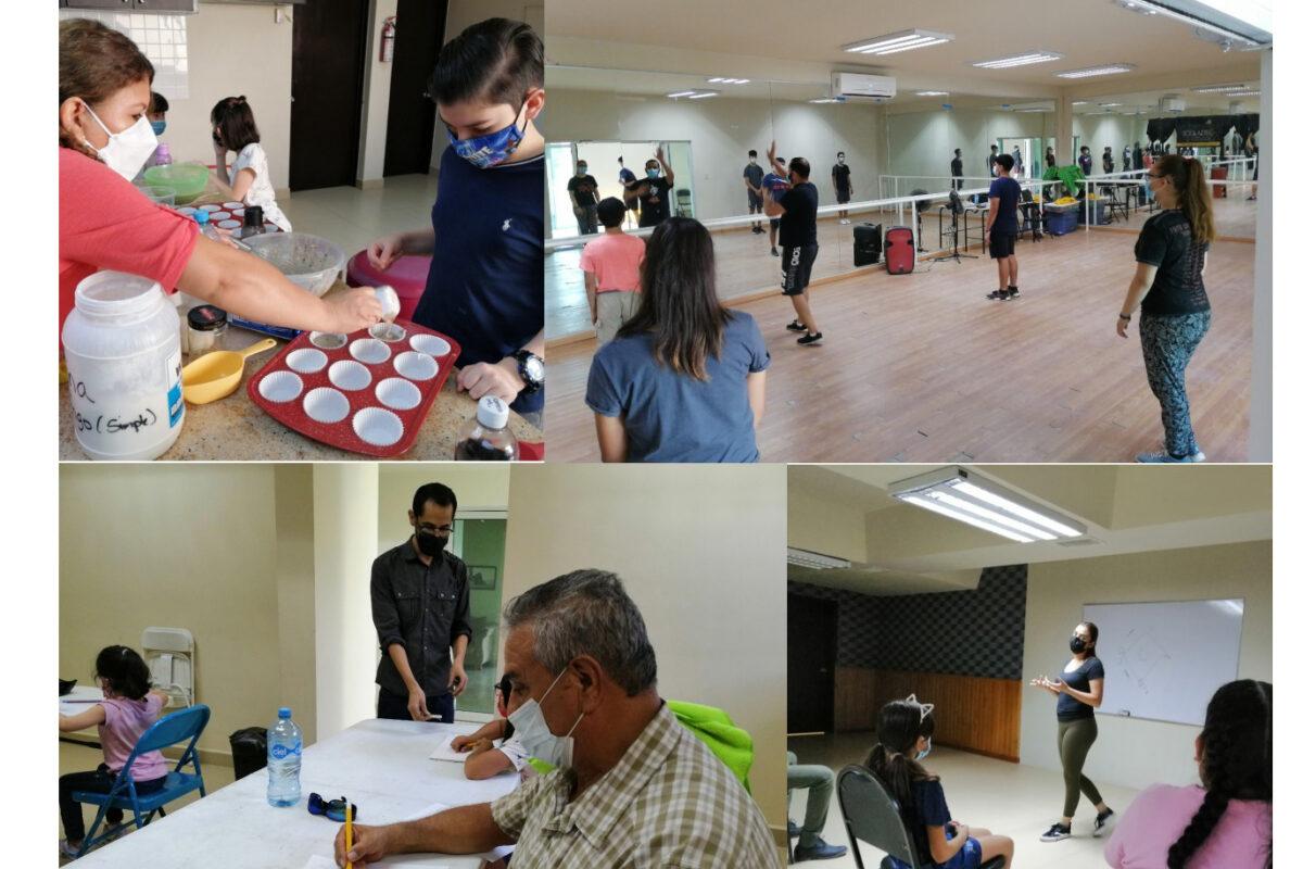 Avanzan cursos artísticos de verano en el Centro Cultural de SLRC