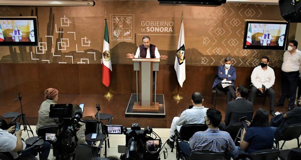 Durazo anuncia nuevos nombramientos de titulares de dependencias.