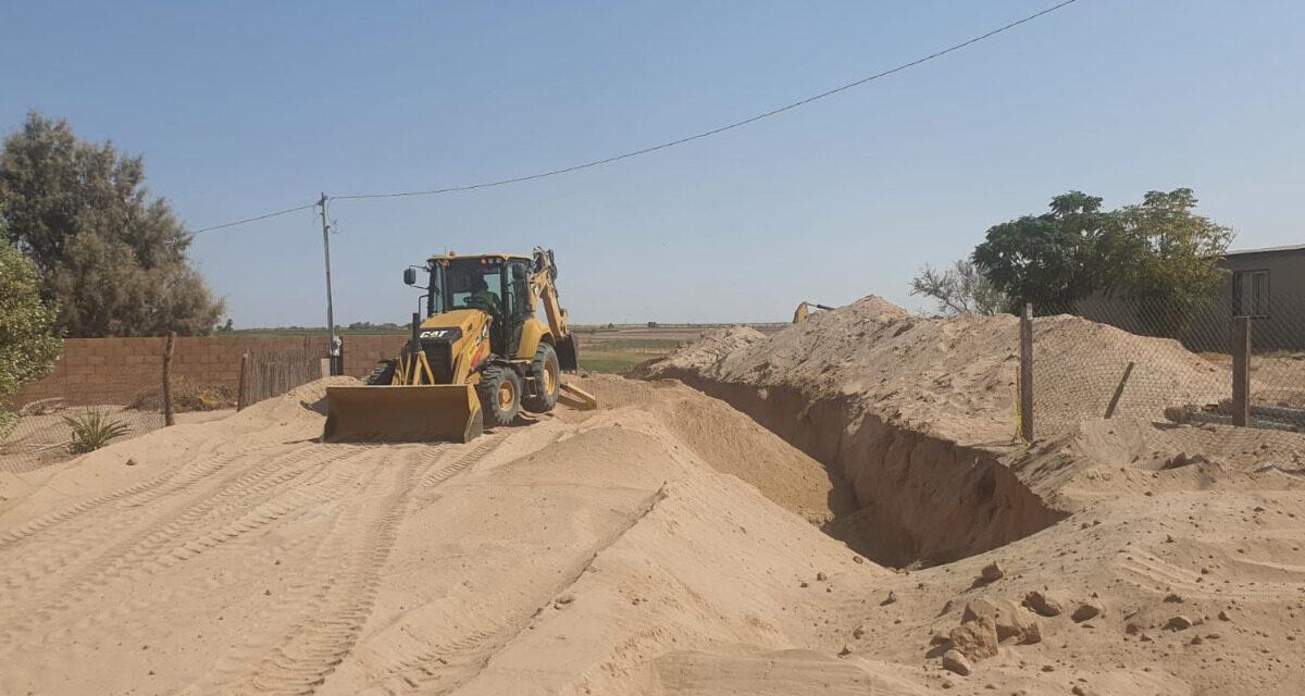 Obras de drenaje avanzan en Lagunitas e Independencia