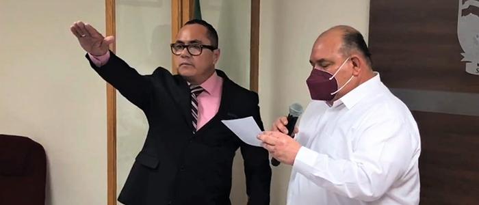Toma protesta nuevo Director de Seguridad Pública de SLRC
