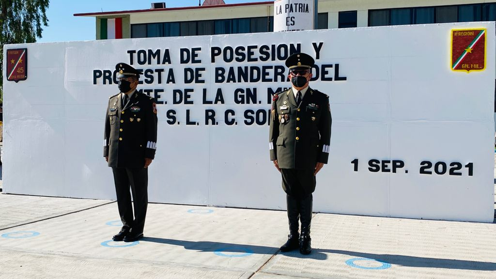 Tiene San Luis Río Colorado nuevo mando Militar