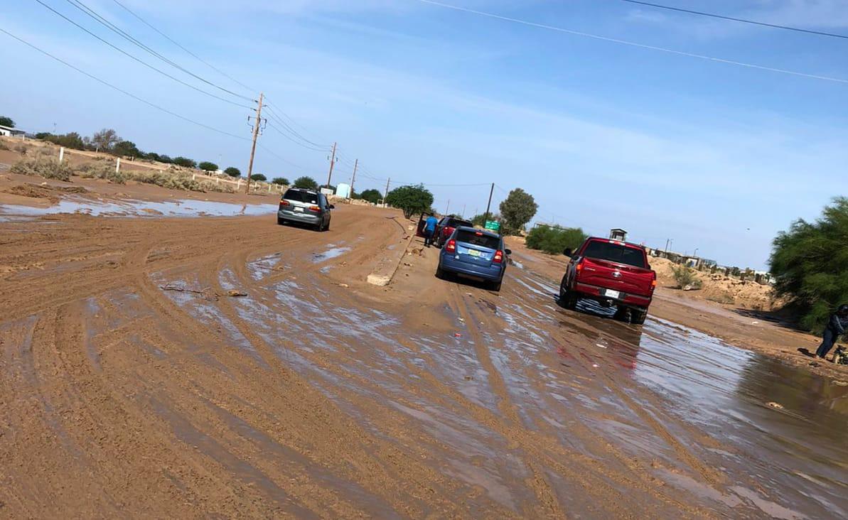 Reabren la circulación en la carretera del Golfo de Santa Clara