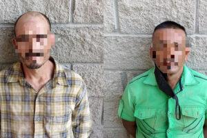 Municipales detienen a dos sujetos en flagrancia de robo en SLRC