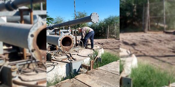 Oomapas da mantenimiento a cárcamo Río Santiago