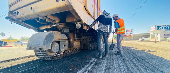 Rehabilita Obras Públicas tramo de la calle 42