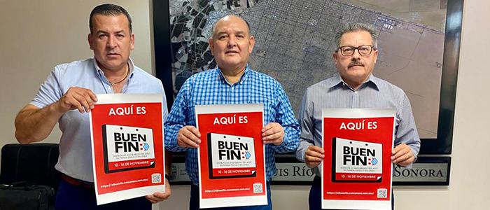 """Reitera Ayuntamiento su apoyo a comerciantes y empleados para el """"Buen Fin"""""""