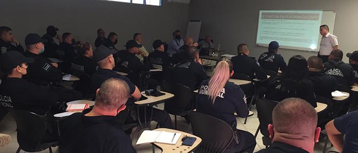 Fiscalías actualizan a policías en protocolos de actuación policial